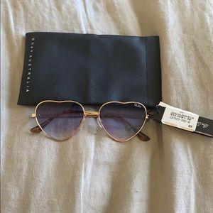 Quay Heart Sunglasses